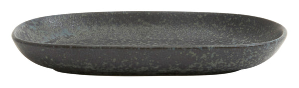 Graphite Oval Plate