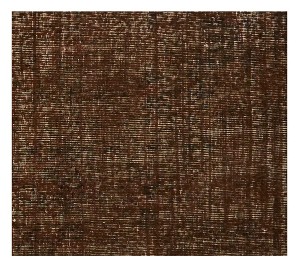 "Vintage Overdyed Rug - 6'9"" x 3'8"""