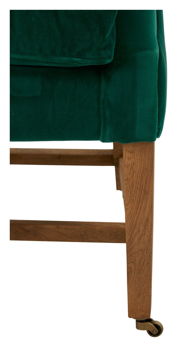 Aline Wing Chair - Green