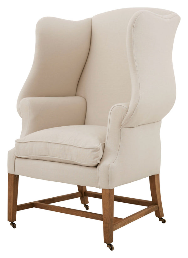 Aline Wing Chair - White