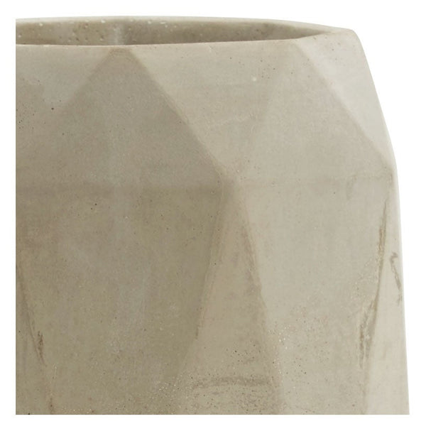 Diamond Cement Vase