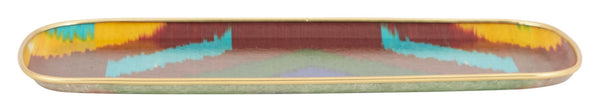 Multicolored Ikat Tray - Rectangle