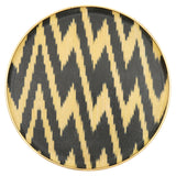 Black Ikat Tray