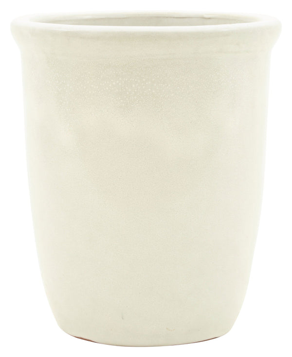 Tall White Pot