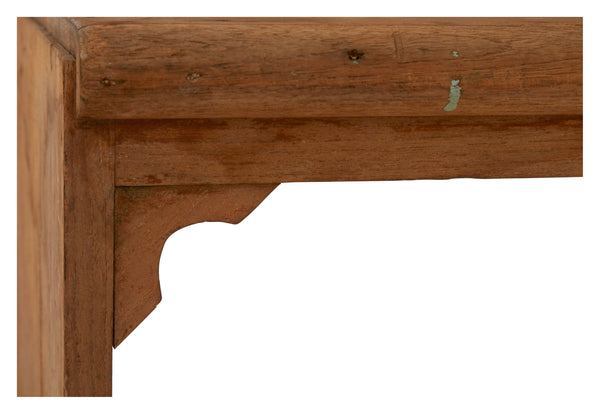 Antique Double Train Bench