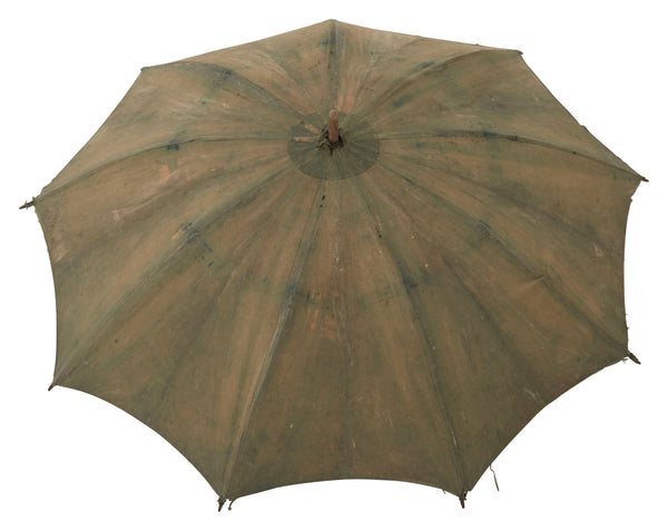 Vintage Indigo Umbrella X