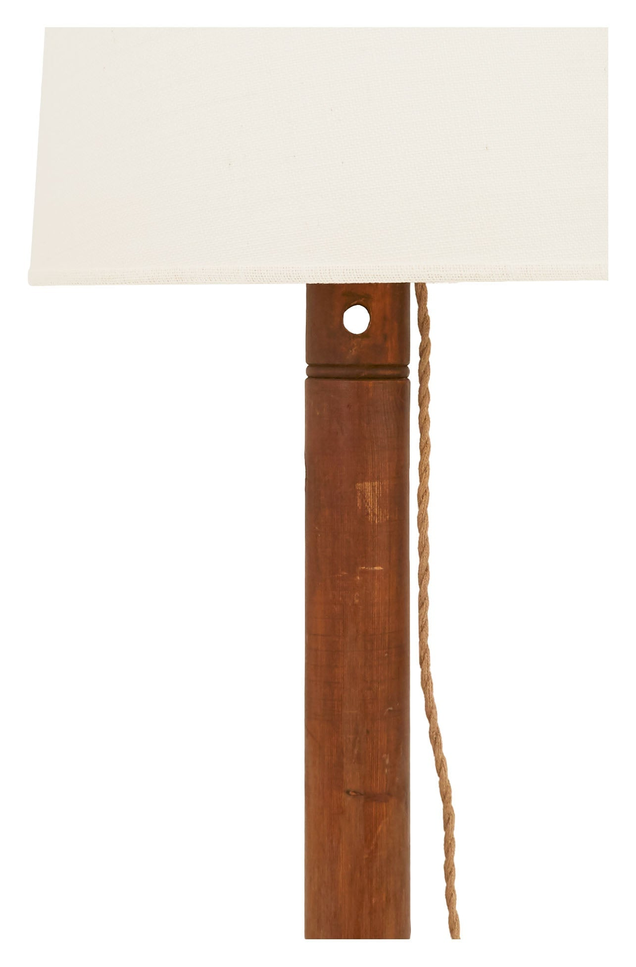 Vintage Coat Stand Floor Lamp