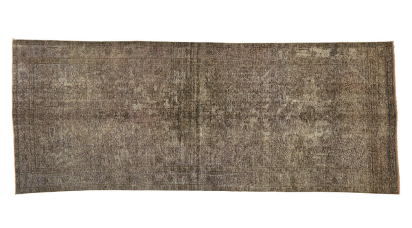"Vintage Overdyed Rug - 12'5"" x 4'11"""