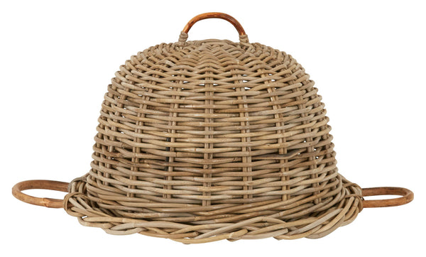 Picnic Rattan Food Cover