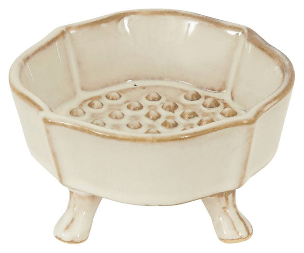 Germain Footed Soap Dish