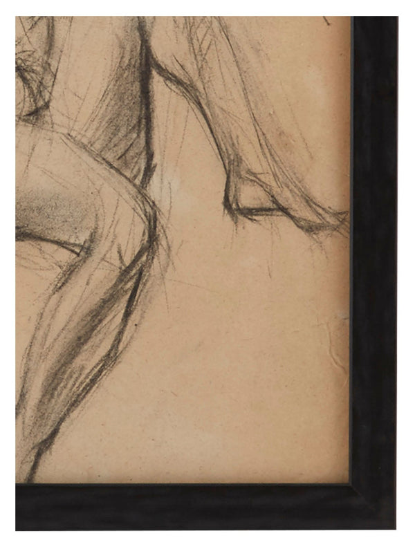 Vintage French Figure Study - Simple Frame #6
