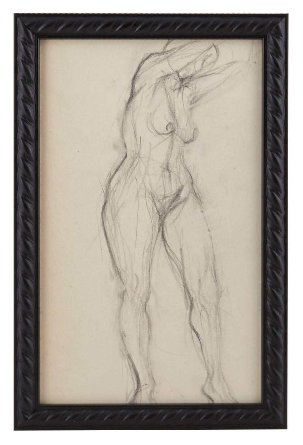 Vintage French Figure Study - Rope Frame #14