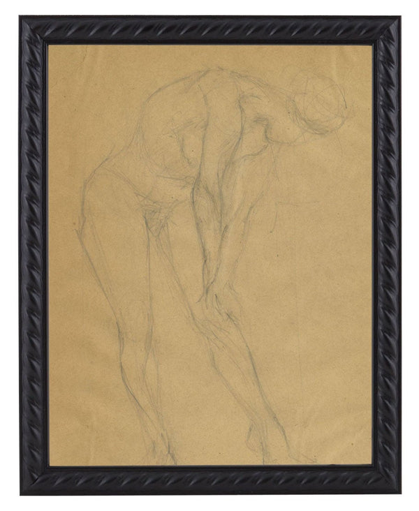 Vintage French Figure Study - Rope Frame #5
