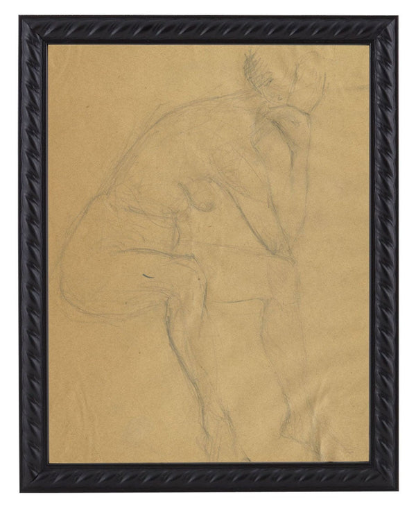 Vintage French Figure Study - Rope Frame #6
