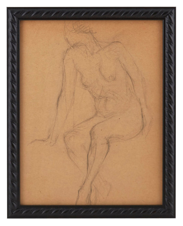 Vintage French Figure Study - Rope Frame #15