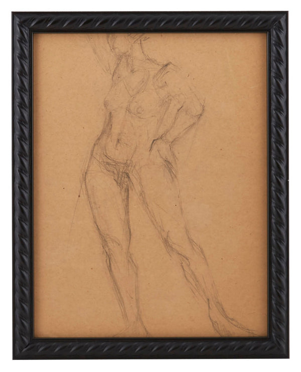Vintage French Figure Study - Rope Frame #16