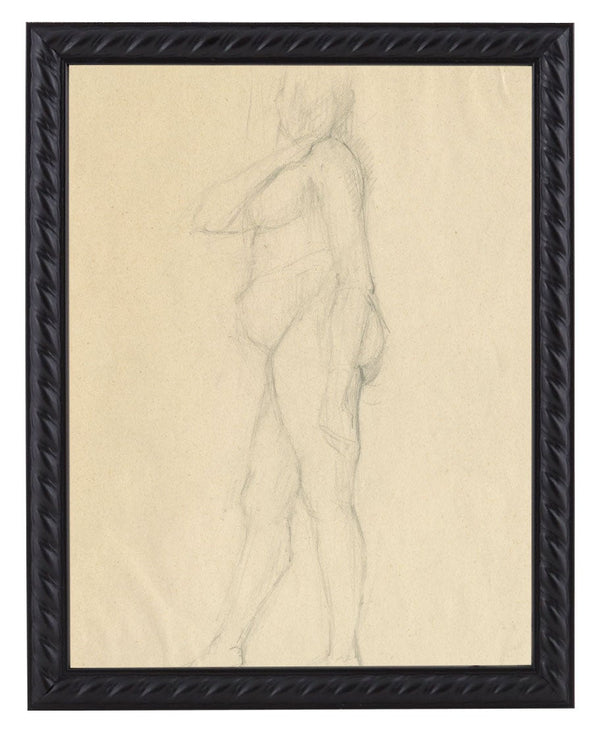 Vintage French Figure Study - Rope Frame #12