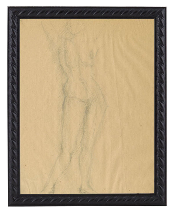 Vintage French Figure Study - Rope Frame #13