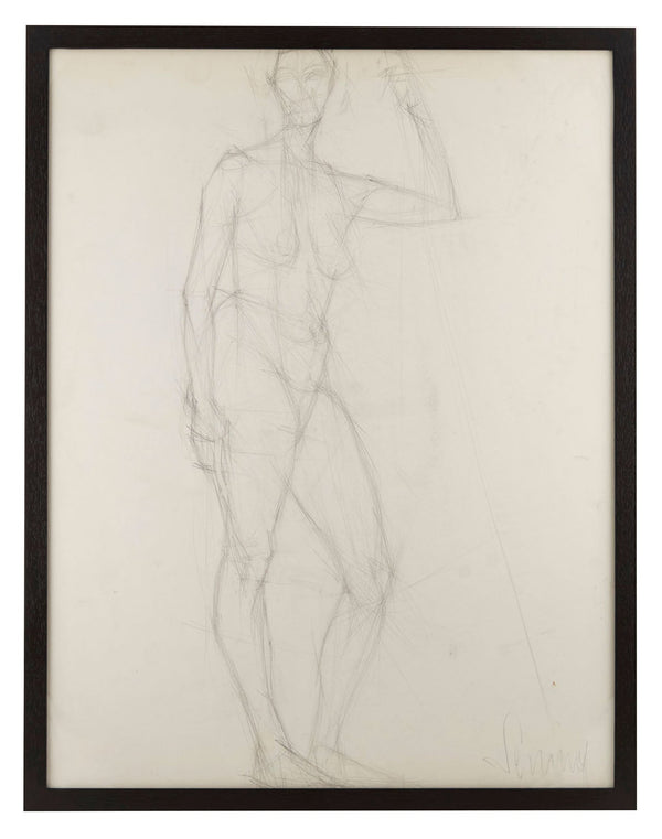 Vintage French Figure Study - Large #8