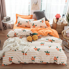 Load image into Gallery viewer, HOT sale Bedding Sets Duvet Cover3/4pcs Cartoon new fashion Bed sheets Single Twin Full Queen Sizes Fruit Banana  Men Women