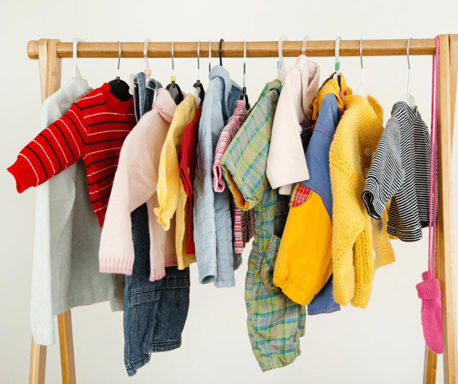 Has your baby outgrown their clothes? Our Little Wardrobe Detox is for you!
