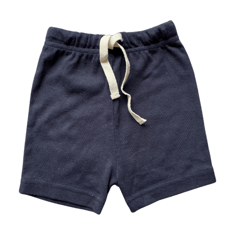 Toddles Sustainable Second Hand Baby Clothes Unisex organic shorts with brand Naturebaby