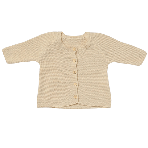 Toddles Sustainable Second Hand Baby Clothes Unisex knitted cardi with brand Acorn Kids