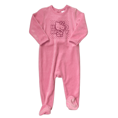 Toddles Sustainable Second Hand Baby Clothes Baby girls hello kitty bodysuit with brand Zara