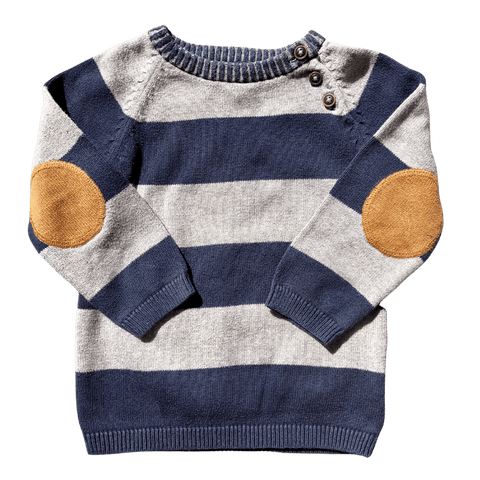 Toddles Sustainable Second Hand Baby Clothes Baby boys jumper with brand H&M
