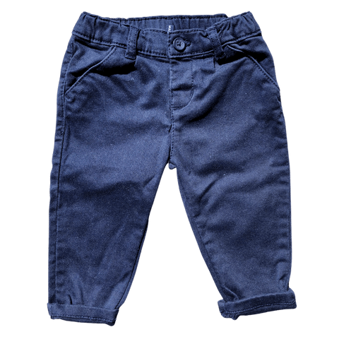 Toddles Sustainable Second Hand Baby Clothes Baby boys original marines navy chinos