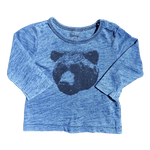 Toddles Sustainable Second Hand Baby Clothes Baby boys grizzly bear long sleeve tee with brand Cotton On