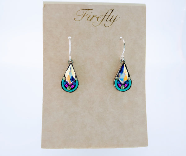 Fire Fly Lily Drop Earring