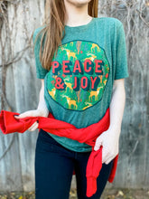 Load image into Gallery viewer, Peace and Joy Tee