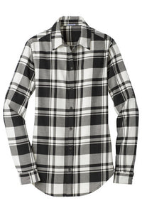 PA Ladies Plaid Tunic