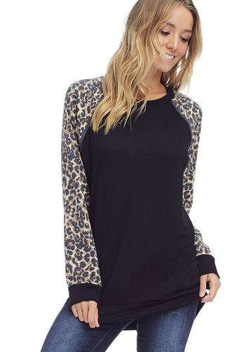 Long Sleeved Terry Top