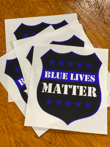 Blue Lives Matter Decal