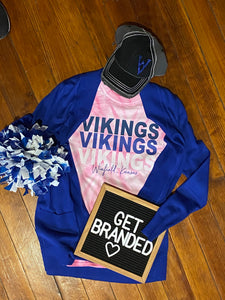 Pink Out Ombre Vikings Tee