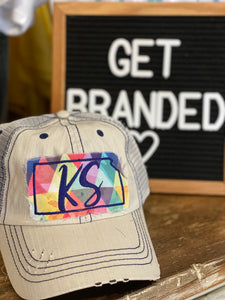 State Patch Hats- KS and OK