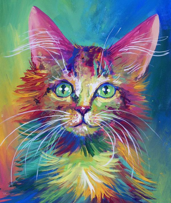 5d Cat Diamond Painting Kit Premium-54