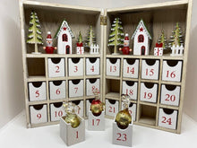 Load image into Gallery viewer, Wooden Advent Calendar