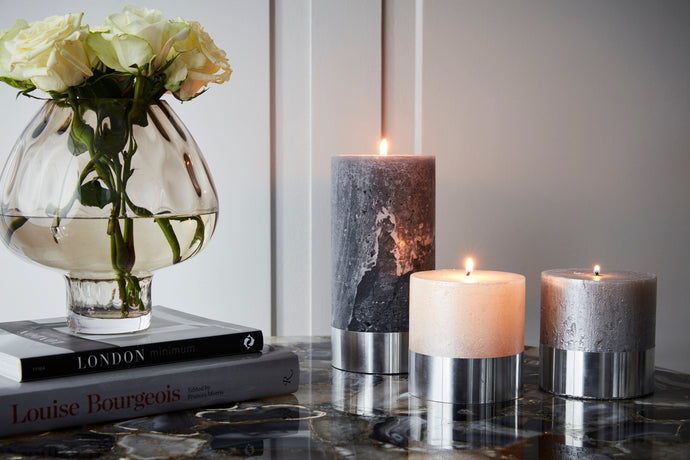 The Metallic Candle Collection