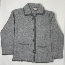 Load image into Gallery viewer, Wool & Cashmere Knit Jacket