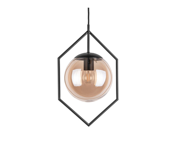 Diamond Frame Pendant Lamp