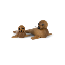 Load image into Gallery viewer, Mama Seal and Baby Seal