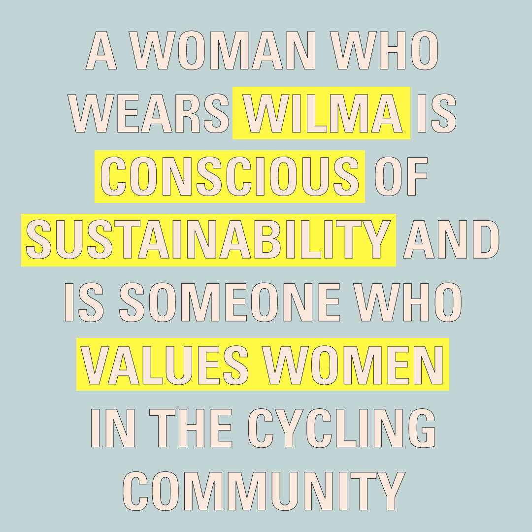 Wilma women cycling clothes