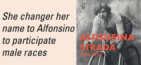 alfonsina Strada cycling woman