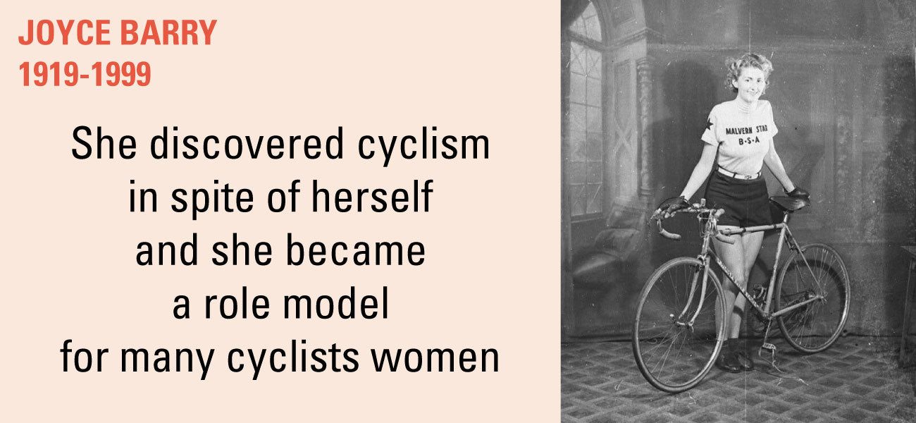Joyce Barry cyclist women