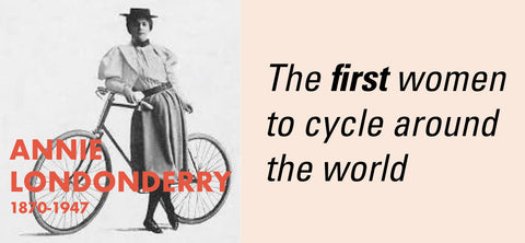 Annie Londonderry women cycling