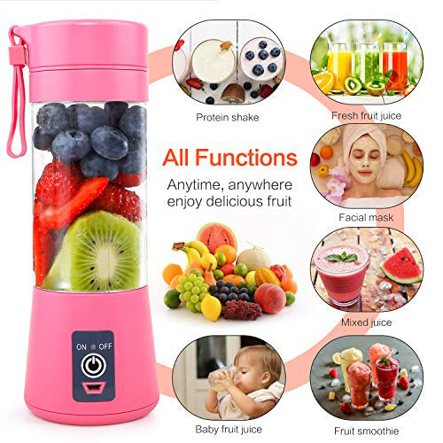 Portable USB Rechargeable High capacity Juice Cup