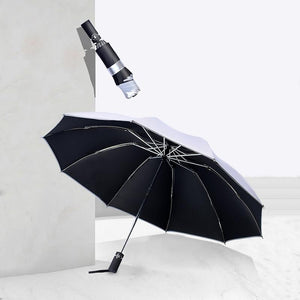 Two free shipping Business reverse folding umbrella